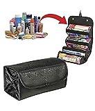 #6: Woogor Roll N Go Travel Buddy Cosmetic Toiletry Bag (Black)