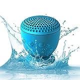 Whitelabel Drop Hi-Fi senza fili Altoparlante Bluetooth 4.0 - Potente Altoparlante Portatile Senza fili -design resistente all'acqua unica con ventosa - Compatibile con iPhone 4/4s/5/5c/5s iPad Galaxy S4/S3 Nota3 / 2 HTC telefoni o altri dispositivi abilitati Bluetooth (Drop Blu)