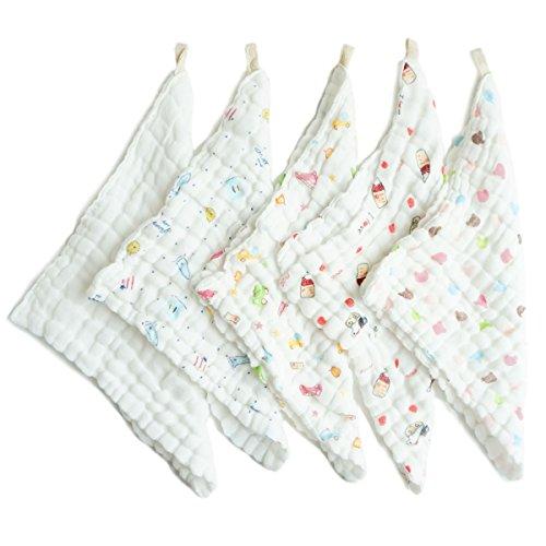 Fygood in mussola, asciugamani e teli da bagno, per neonati viso ...