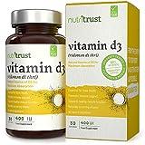Best La vitamina D3 bambini - Vitamin D3 400 IU Tablets di Nutritrust® Review
