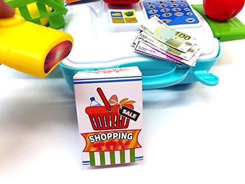 Brigamo 560 – Spielzeug Bio Kaufladen to go im Koffer - 4
