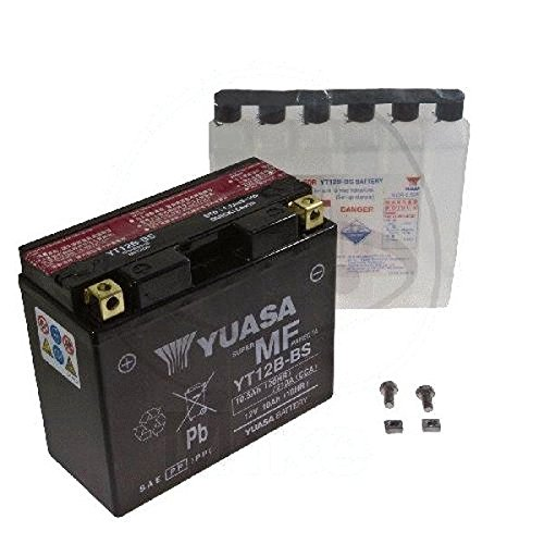 Preisvergleich Produktbild AGM Batterie Ducati Diavel 1200 Dark ABS 13-14 Yuasa YT12B-BS Dry