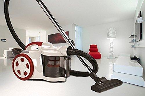 Hochwertiger ZYKLON POWER 2200 Staubsauger , Bodenstaubsauger , Zyklon Beutellos [Energieeffizienzklasse C]