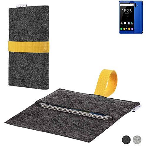 flat.design Handy Hülle Aveiro für Oukitel K8000 passgenaue Filz Tasche Case Sleeve Made in Germany
