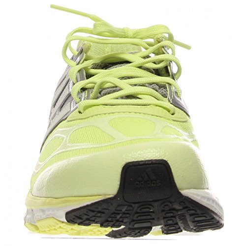 Adidas Supernova Sequence 6 Running Shoes Taille 5 Glow/Running White/Metallic Silver