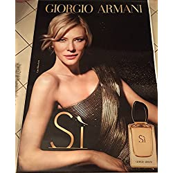 AFFICHE - Giorgio ARMANI  Cate BLANCHETT - Parfum Si - 120x175 cm - AFFICHE / POSTER
