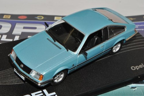 Opel Monza A Coupe Blau Silber 1978-1982 Inkl Zeitschrift Nr 75 1/43 Ixo Modell Auto