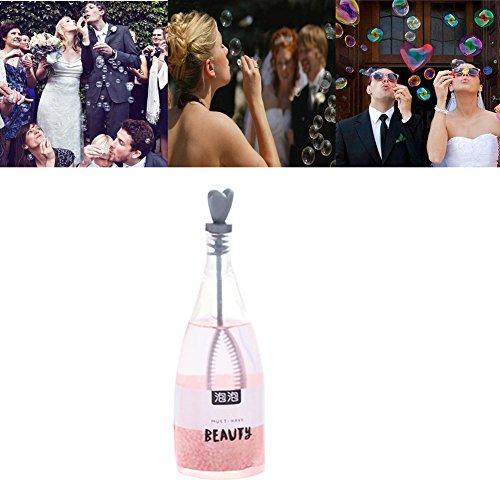 FSSJCKX cuore champagne bolle, 30ML champagne bolle, bolle, bolle di sapone festa di nozze per matrimoni, lauree, feste, compleanni, Come da immagine, 30 ml