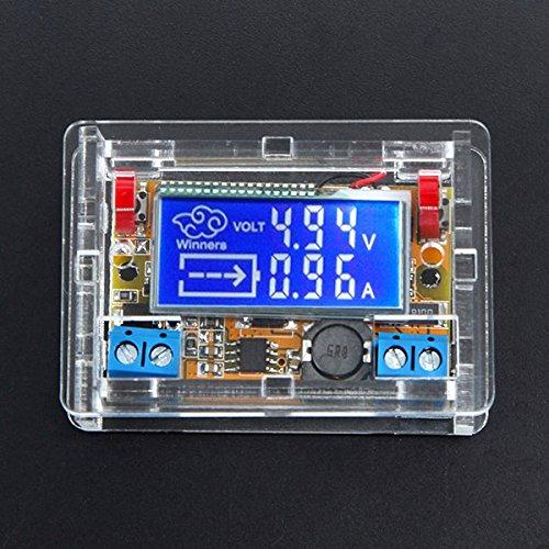 LaDicha Module Réglable d'alimentation D'Énergie De CC-CC Démontable avec L'Affichage D'Affichage À Cristaux Liquides avec La Caisse De Logement