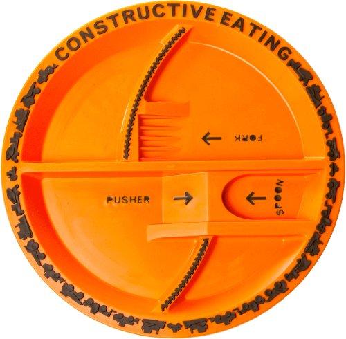 Constructive Eating - Baustellen Teller für Kinder