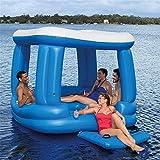 Aufblasbare Sich hin- und herbewegende Reihe des Swimmingpools im Freien, Sommer-großes Wasser bringt Sich hin- und herbewegende aufblasbare Berge des Betts for4-6People -218 * 218CM an