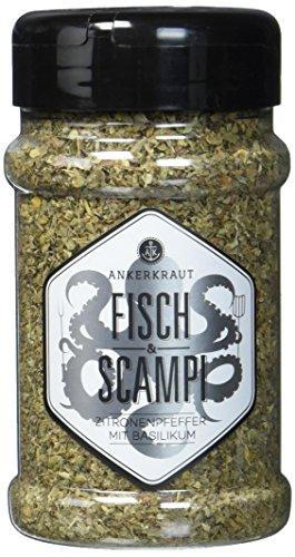 Ankerkraut Fisch & Scampi Trockenmarinade/BBQ-Rub im Streuer (Bbq Fisch)