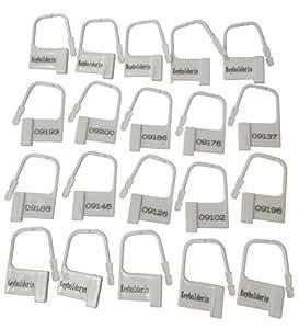 20x Kunststoff Vorhängeschlösser verschieden nummeriert. Für CB und andere Produkte