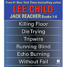 Lee Child's Jack Reacher Books 1-6