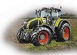 Revell Control- RC Mini Tractor Juguetes a Control Remoto, Color Verde (23488)