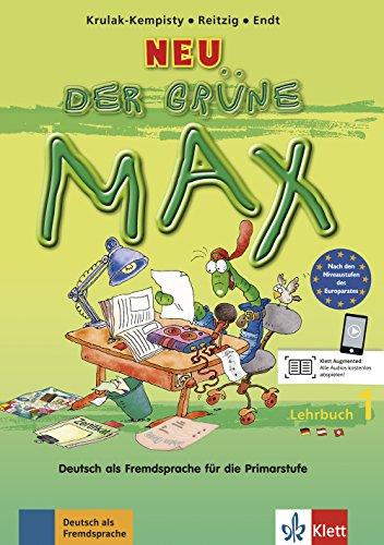 Der grune max lehrbuch per la scuola elementare: der grüne max 1 neu, libro del alumno