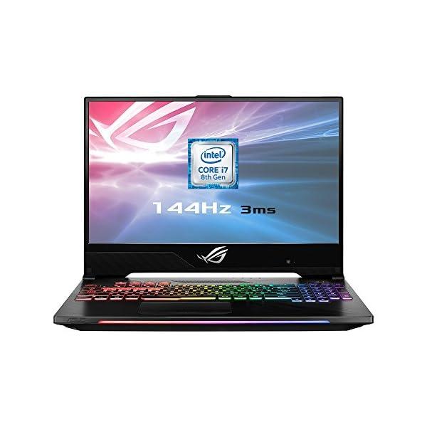 ASUS 15.6-Inch Laptop – (Intel Core i7-8750H, 16 GB RAM, 1 TB HDD Plus 256 GB SSD, NVIDIA GeForce GTX1060 Graphics, Windows 10 Pro) 51iX9bOzcJL
