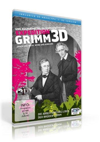 Expedition Grimm ( 2D und 3D anaglyph - inkl. 2 Brillen) [2 DVDs]