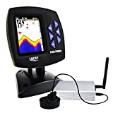 Best Fish Finder Under 200.00s - LUCKY Color Display Boat Fish Finder Wireless Remote Review