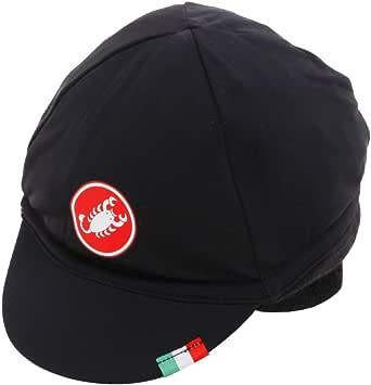 Noir Red Coiffe de Cyclisme Mixte Adulte Uni CA5W0|#Castelli Protection Thermique Cap