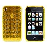Logotrans Rhombus Series Coque de protection pour Apple iPhone 3G/3GS Orange (Import...