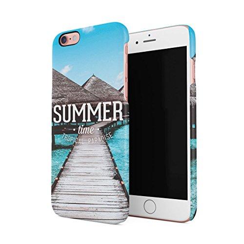 Funny Zitat I Need Vitamin SEA Tropical Paradise Chill Dünne Rückschale aus Hartplastik für iPhone 5 & iPhone 5s & iPhone SE Handy Hülle Schutzhülle Slim Fit Case cover Summer Time