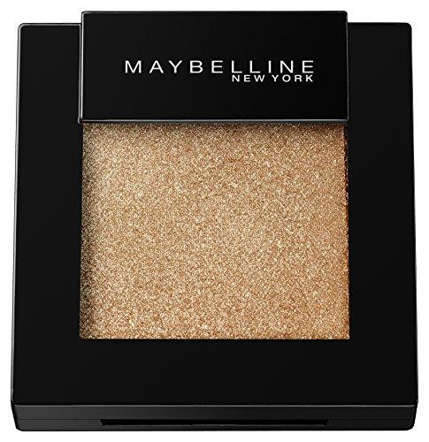 Maybelline Color Sensational Mono Lidschatten Nr. 15 Gold Crush, aufregende Farben von matt bis glänzend, praktisch im Mono-Format, für alle Hauttypen, 2 g