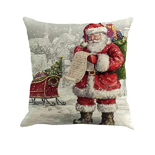 Asien Cubierta Almohadas Navidad Decoración Banda