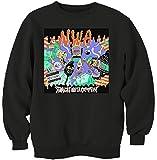 MaikesTic NWA Straight Outta Compton Cartoon Design Sweatshirt Unisex XX-Large