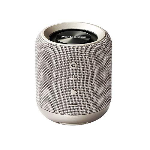Portronics POR-821 SoundDrum Wireless Bluetooth 4.2 Stereo Speaker with FM, USB Music (Grey)
