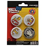 Abystyle - ABYACC050 - Déguisement - Simpsons - Pack de Badges - Homer