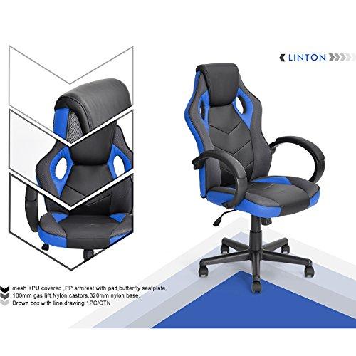 nbf-fateuil-de-escritorio-gaming-deporte-asiento-racing-para-ordenador-pu-piel-sintetica-azul-negro