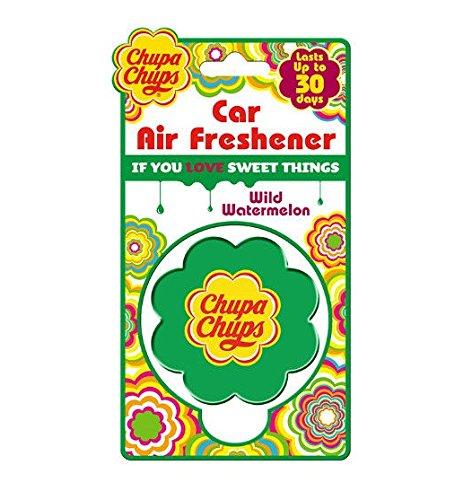 Preisvergleich Produktbild Chupa Chups Auto-Lufterfrischer CHU1009, Duft: Wilde Wassermelone, hält bis zu 30Tage
