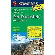 Der Dachstein - Ramsau - Filzmoos: Wanderkarte mit Aktiv Guide, Panorama, Radrouten und Skitouren. GPS-genau. 1:25000 (KOMPASS-Wanderkarten, Band 31)