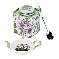 Pimpernel 3-Piece Botanic Garden Tea Set