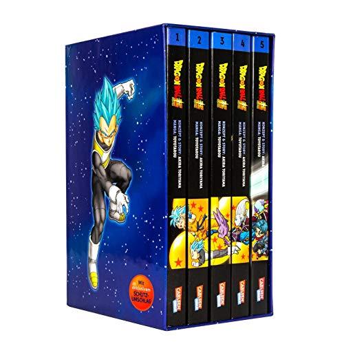Dragon Ball Super Bände 1-5 im Sammelschuber mit Extra (Ball Buch Dragon 4)