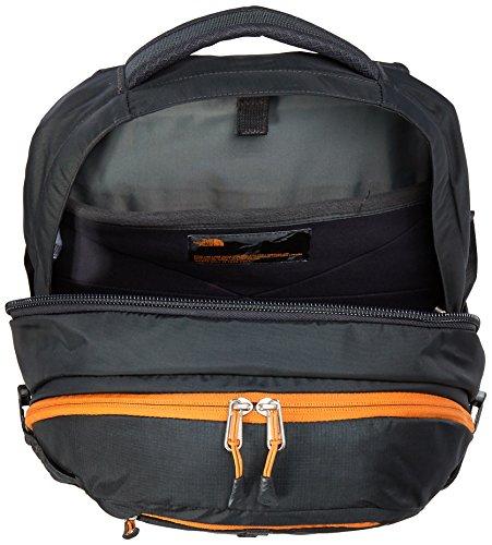 The North Face Unisex Rucksack Borealis Grau/Orange