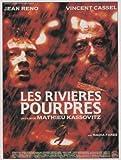 The Crimson Rivers Affiche du film Poster Movie Les cours d'eau cramoisis (11 x 17 In - 28cm x 44cm) French Style A