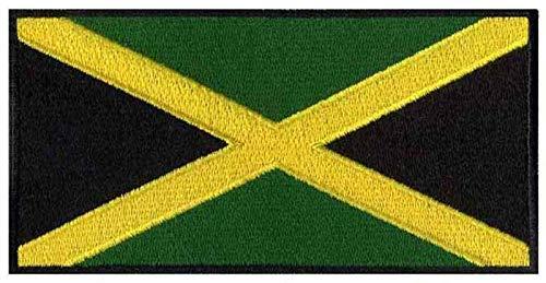ASTONISH Jamaica hierro bandera bordado parches logotipos