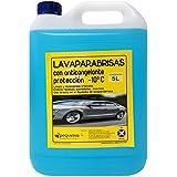 Liquido Limpiaparabrisas, antimosquitos con anticongelante. Envase 5 Litros.