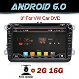 Auto DVD-Player, GPS, Android 6.0, Quad Core,...