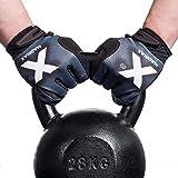 MADMAX Crossfit Gloves Handschuhe, Schwarz/Grau /Weiß, Large