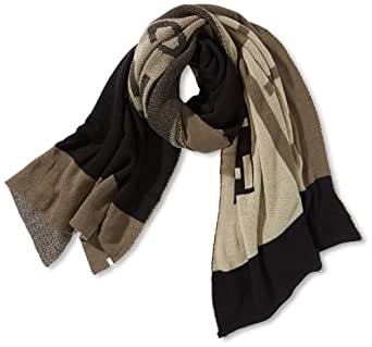 ESPRIT Women's Scarf -  Black - Schwarz (001 black) - One size