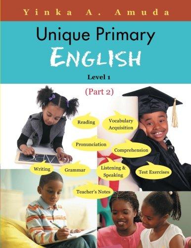 Unique Primary English: Level 1