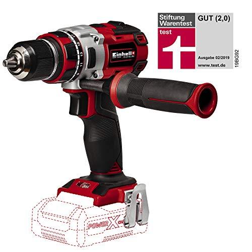 Einhell 4513850 - Taladro atornillador, sin batería, 2velocidades, 60Nm, luz LED, maletín, 500...