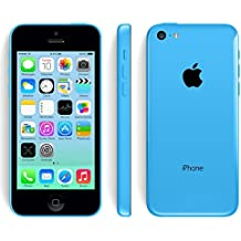 "Apple iPhone 5C - 4G Smartphone Libre IOS 7 (Pantalla 4"" IPS, Cámara 8 Mp, A1532, Dual-Core 1.3 GHz, 8GB ROM, 1 GB RAM, Siri) (Azul) (Reacondicionado)"