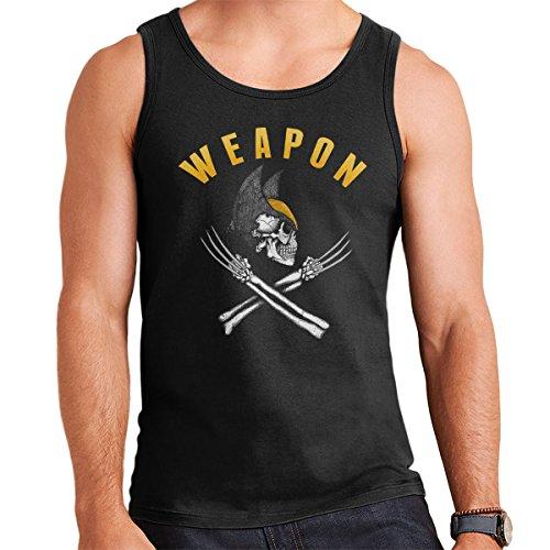 Logan Weapon X Men's Vest Black