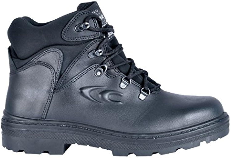 Cofra 25730 – 000.w41 Talla 41 S3 WR Ci Src – Zapatos de seguridad GLENDALE, Negro