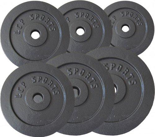 Premium Gusseisen Hantelscheiben Gewichte Sets 2,5 kg 5 kg 7,5 kg 10 kg 15 kg 20 kg