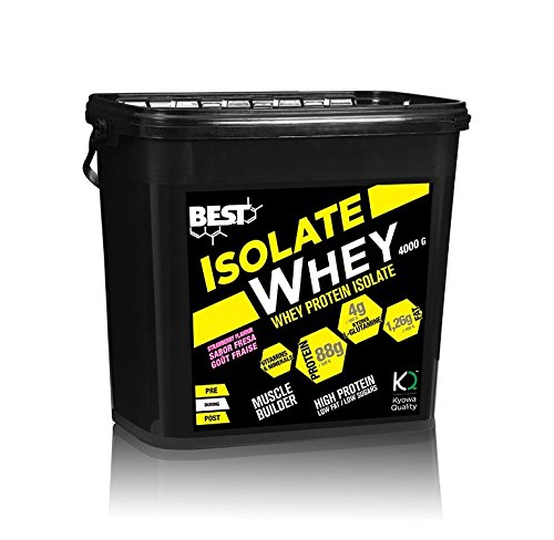 Best Protein Isolate Whey Fresa - 4000 gr